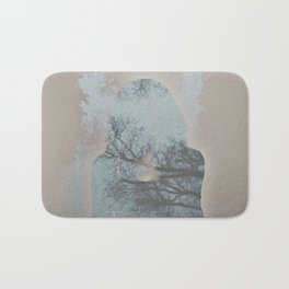 A Ghost in the Trees Bath Mat