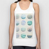 polka dot Tank Tops featuring Ocean Polka dot  by Pure Nature Photos