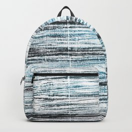 Ghost white abstract watercolor Backpack