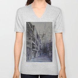 Invisible city Unisex V-Neck
