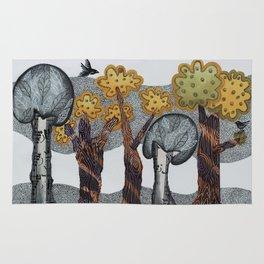 Autumnal Grove Rug