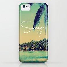 Summer Love Vintage Beach iPhone 5c Slim Case