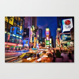 You Will Never Forget: Times Square, New York City Canvas Print
