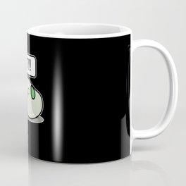 Tasty Beans Green Love Soybean Cartoony Anime Gift Coffee Mug