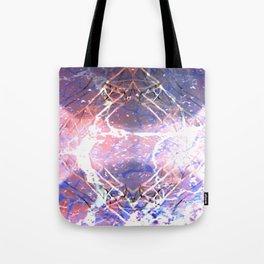 Abstract Ripple Reflection Tote Bag