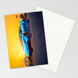 Blue Mirror Stationery Cards