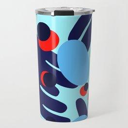 Blue Tropics Travel Mug