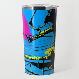 Tailgating - Stunt Scooter Tricks Travel Mug