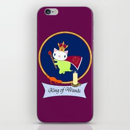 King of Wands iPhone Skin