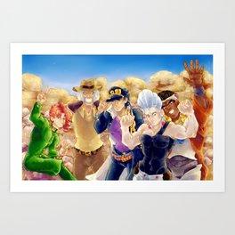 The Crusaders Art Print