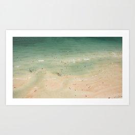 South Beach Aerial Art Print