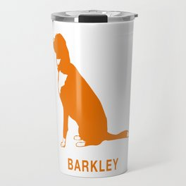Barkley the Border Collie Travel Mug