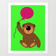 Little Teddybear Art Print