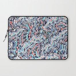 black topography Laptop Sleeve