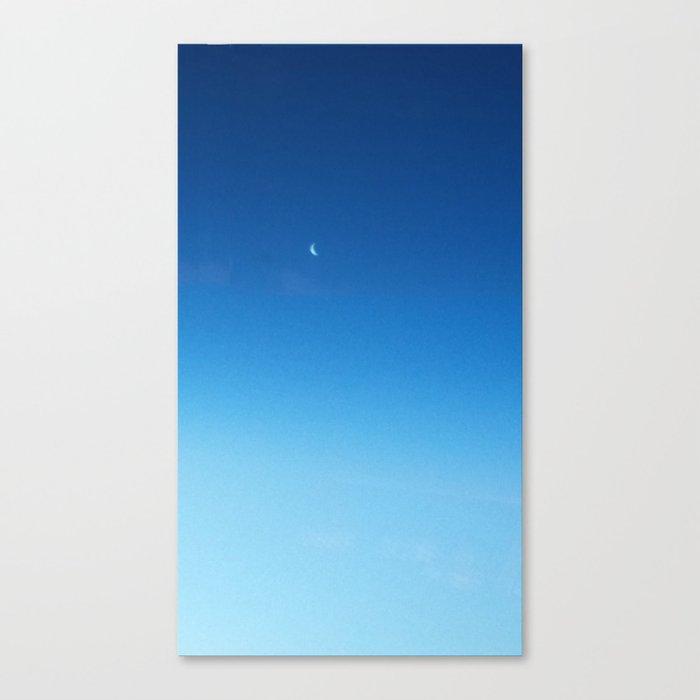 Still Moon Canvas Print