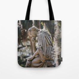 Bonaventure Cemetery - Statue of Eliza Wilhelmina Theus II Tote Bag