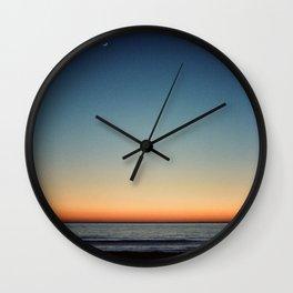 After Sunset Wall Clock