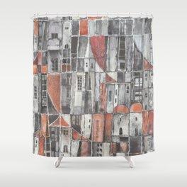 Signos urbanos N° 6 Shower Curtain
