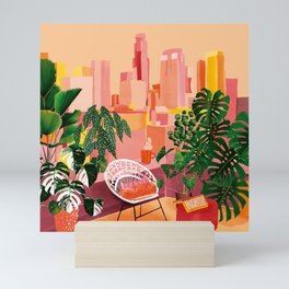 Urban Jungle Rooftop Mini Art Print