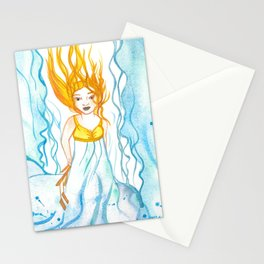 Ilmatar (Sky Goddess) Stationery Cards