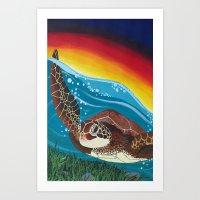 Tortuga Art Print
