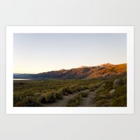 Desert Dawn I Art Print