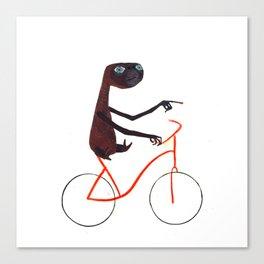Reason EIGHT for using bike: Canvas Print