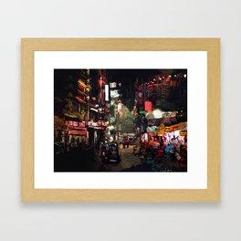 Calle x GV Framed Art Print