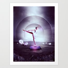 Beyond The Frame Art Print