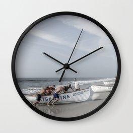 Beach Patrol, Jersey Shore Wall Clock