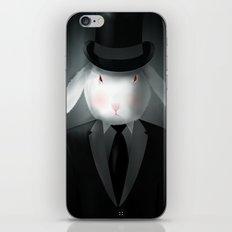 Good-Evening, Mr. Bunny iPhone & iPod Skin