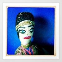 gypsy Art Prints featuring Gypsy by Elena Stonaker