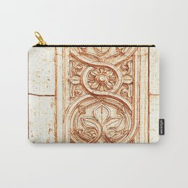 carved stonework Carry-All Pouch