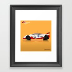 McLaren F1 GTR #03R - 1996 Le Mans - Side View Framed Art Print