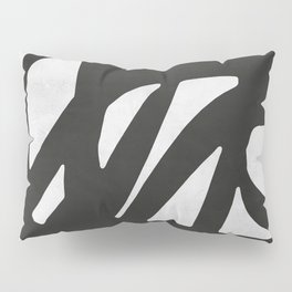Black Expressionism I Pillow Sham