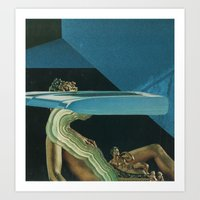 glitch Art Prints featuring Glitch by Jesse Treece