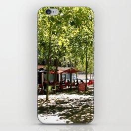Street Cafes iPhone Skin