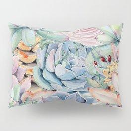 Succulent Rock Garden Pillow Sham