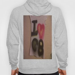 I Love C-B Spray Paint Logo Art Print. Hoody