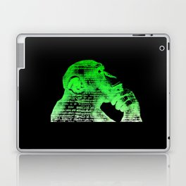 Logic vs Imagination Laptop & iPad Skin