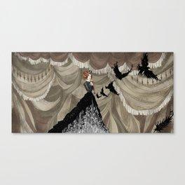 Midnight Circus: The Illusionist Canvas Print