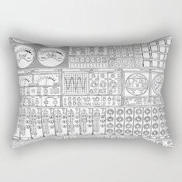 Music Machine Rectangular Pillow