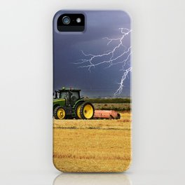 Another day on the Farm iPhone Case