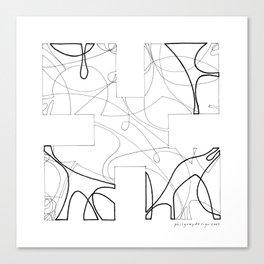animorph 01 - the beginning  Canvas Print