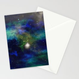 Stars and Waves Stationery Cards