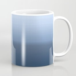 blue ombre paint Coffee Mug