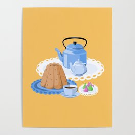 Time to drink tea Poster