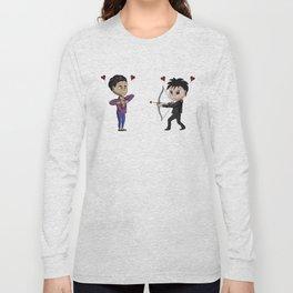 Cupid Chibi Malec Long Sleeve T-shirt