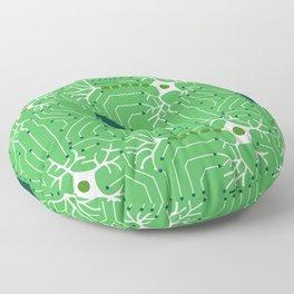 Neural Network 3 Floor Pillow
