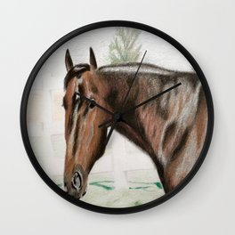 Horse in the Pastor Wall Clock